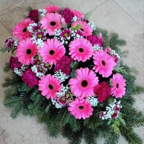 Bukett Chrysanthemen, Gerbera, Nelken