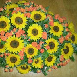 Bukett mit Sonnenblumen