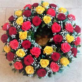 Kränze: Kranz Biedermeier Rose