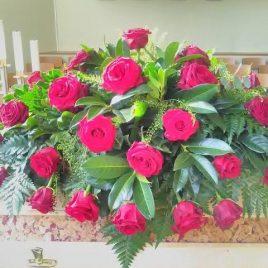 Sarggesteck Rose